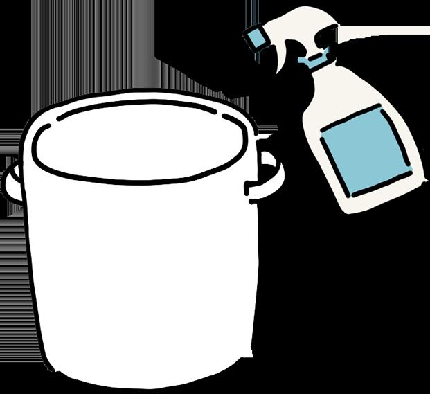 梅干しの漬け方 容器を準備する 石神邑 webコラム