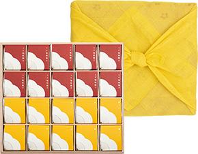 個包装 20粒入 花ふきん包み