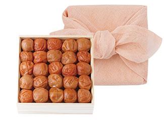 花ふきん包みセット(500g木箱)