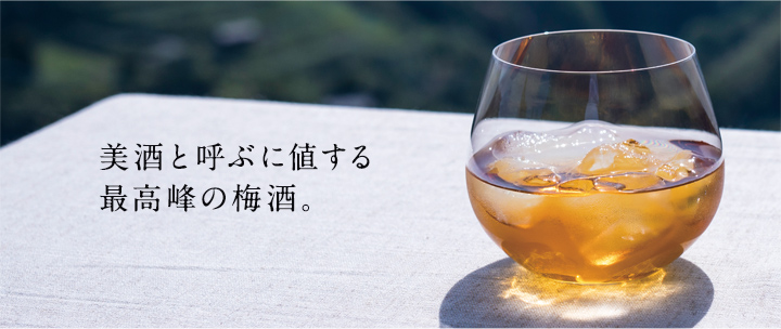 美酒と呼ぶに値する最高峰の梅酒