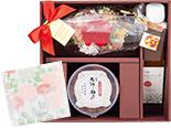 母の日限定!花咲く花ふきん包みセット