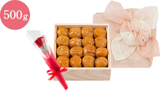 蜜っこ木箱花咲く花ふきん包みセット
