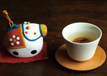 開運 干支飾り 大福茶セット 子