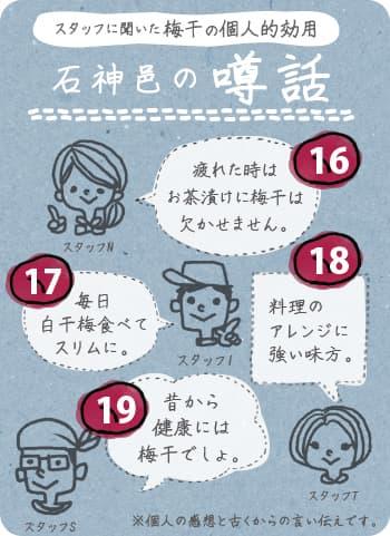 梅干しを習慣化する理由1619_石神邑の噂話